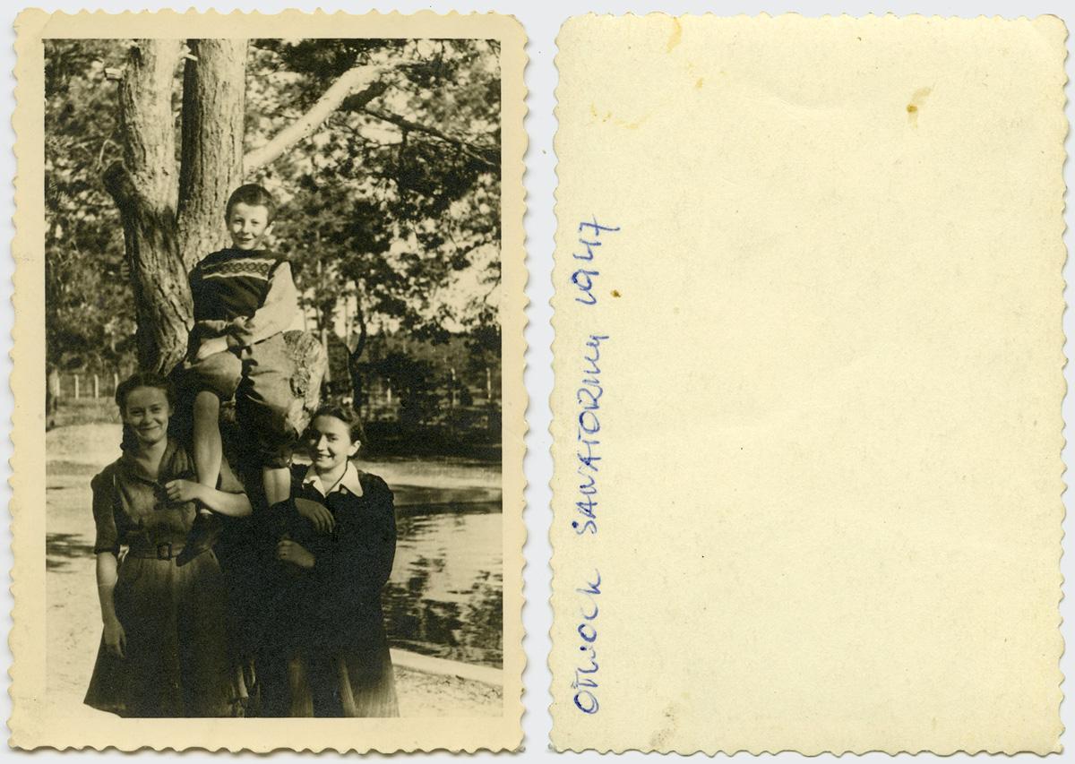 Otwock-sanatorium-1947-z-prawej-Barbara-Zawislawska-007-str-A-i-B